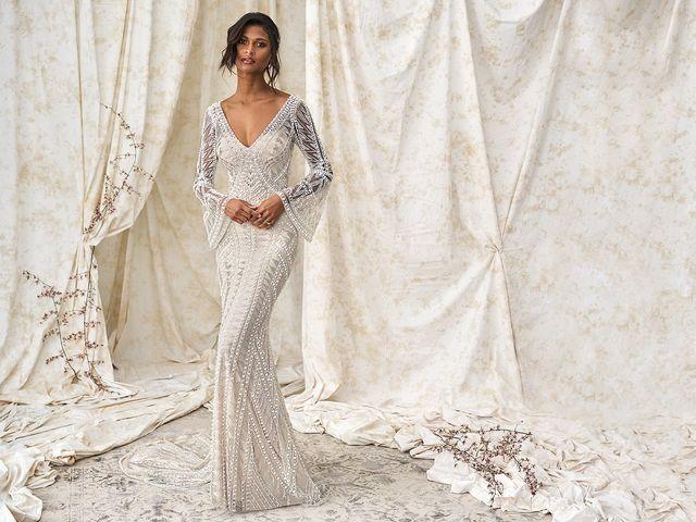 99 fantásticos vestidos con encaje para tu boda soñada