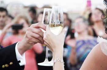 20 frases románticas para el momento del brindis