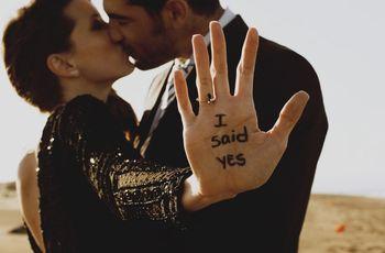 10 formas originales de entregar el anillo de compromiso