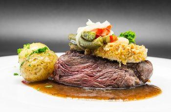 Variadas recetas con carne para el banquete de boda