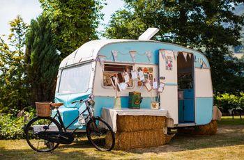 ¿Os apetece poner una caravana o furgoneta vintage en vuestra boda?