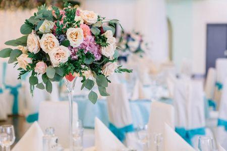 Centros de mesa con flores... ¡inspiraos!