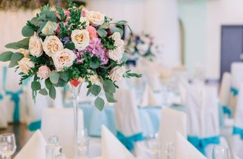 Centros de mesa con flores... ¡inspiraros!