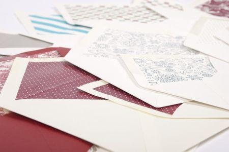 Ideas originales para los sobres de las invitaciones