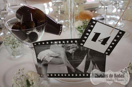 C�mo nombrar las mesas del banquete de bodas