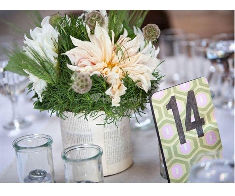 Ideas originales para los centros de mesa for Centros de mesa para bodas originales