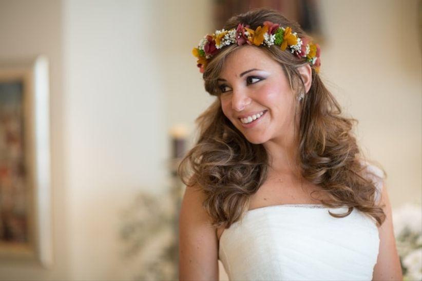 5 Consejos Para Lucir Una Corona De Flores - Flores-en-el-pelo-para-bodas