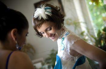 5 ideas para incorporar el algo azul a tu look de novia