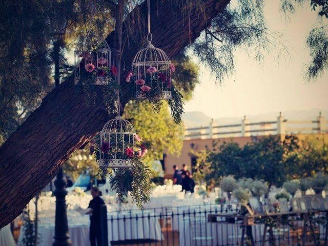 ¿Os va lo vintage? ¡Decorad vuestra boda con jaulas!