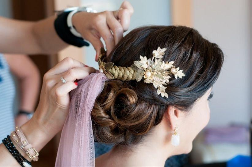 Fotos de recogidos de novia bajos