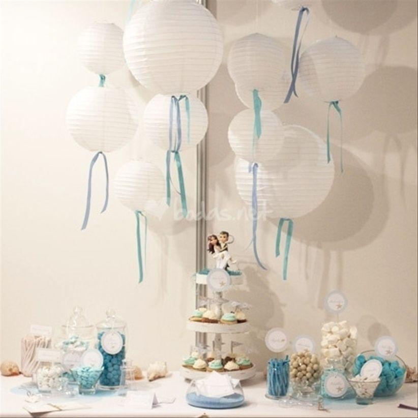 Decoraci n para bodas con l mparas chinas - Lamparas de decoracion ...