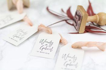 4 ideas para sacarle todo el partido a un sello de boda