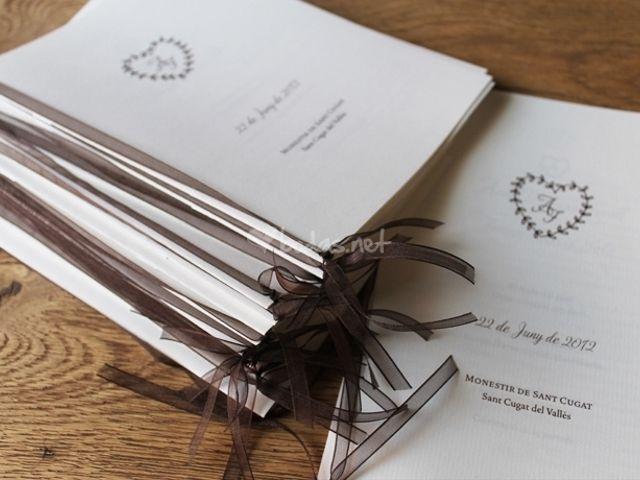 Consejos para preparar el misal de la boda