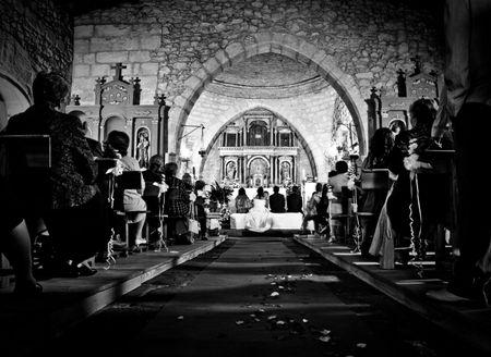 El orden de entrada a la iglesia
