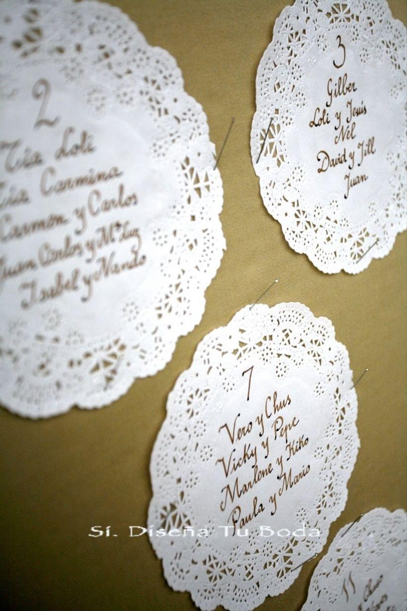 Decora tu boda con blondas de papel - Blondas de papel ...