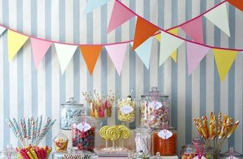 Buffets de dulces para bodas