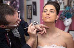 Maquillaje de novia con aerógrafo