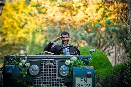 Ideas originales para decorar el coche de bodas