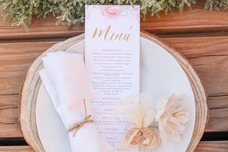 Minutas de boda: ideas para conseguir un diseño único y personalizado