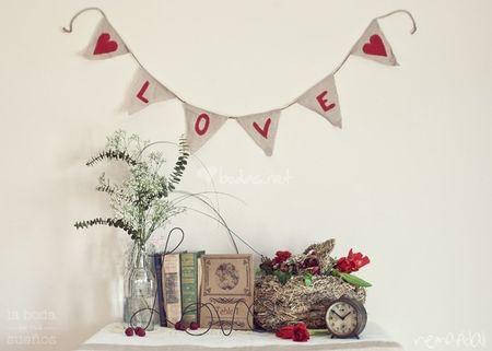 Consejos para una decoración de boda hecha en casa
