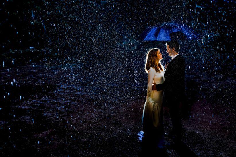 Boda en la lluvia 🌧️ 2