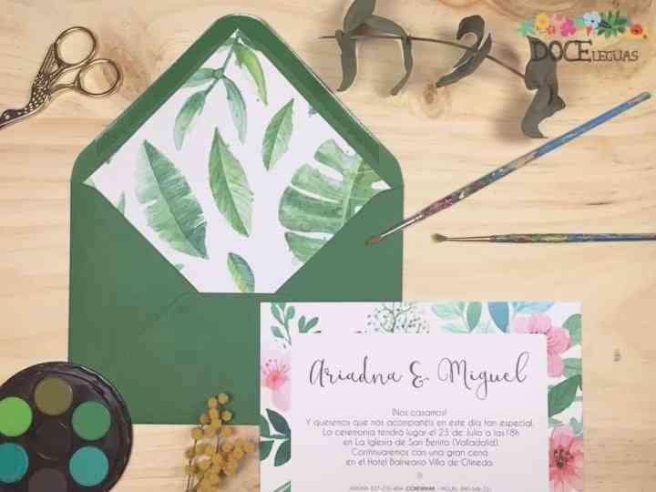 Invitaciones De Boda 2017 Los 35 Diseños Más Bonitos