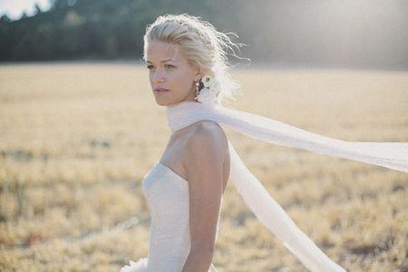 10 peinados con trenzas para novias