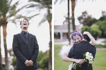 Fotos de boda First Look