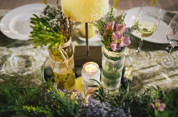 7 (fantásticas) maneras de incluir velas en vuestro enlace