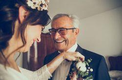 Los testigos y padrinos de la boda