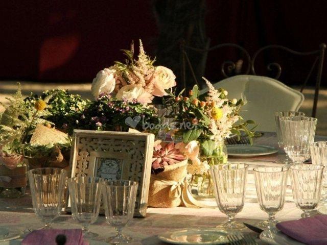 Cómo conseguir un ambiente rústico y chic en tu boda