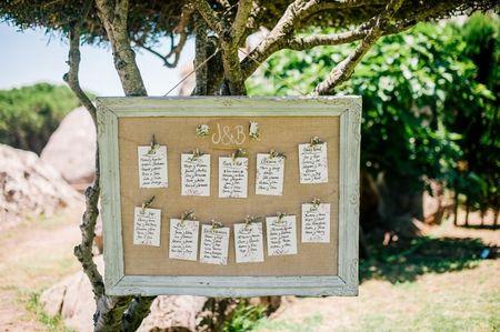 Trucos para organizar el mejor seating plan de boda