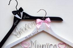 Personaliza tu percha de boda