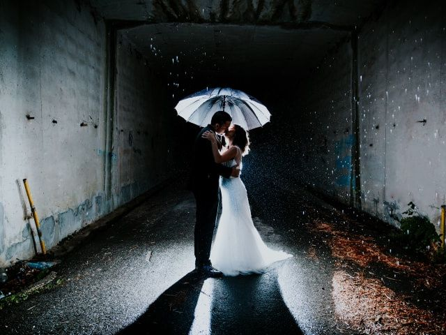 Claves para sobrevivir a una boda pasada por agua