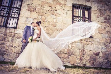 Vestidos de novia con volumen
