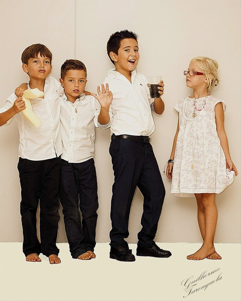 8dc6aa138 Padrinos de 3 y 6 años  Traje o ropa informal   - Ceremonia Nupcial ...