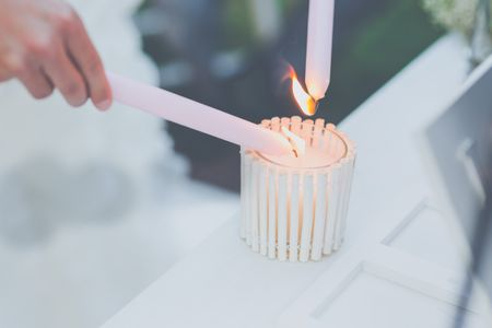 Ideas para una boda civil: la ceremonia de las velas