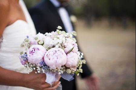 Ramos de novia para bodas en primavera