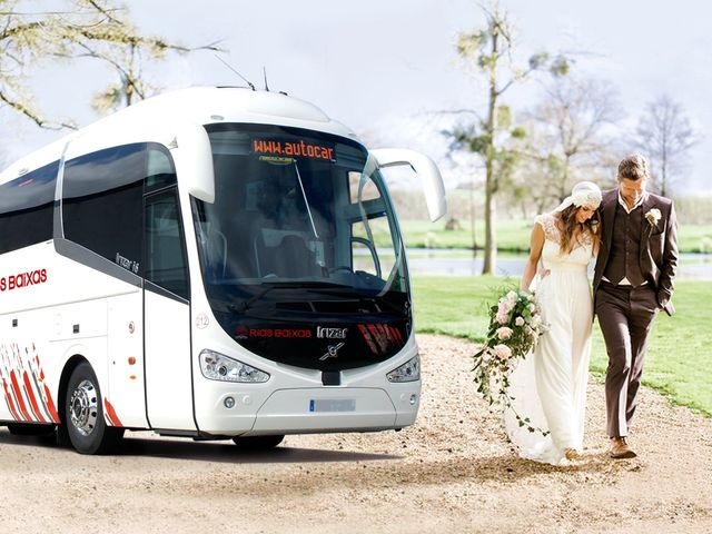 6 ventajas de contratar un autocar para vuestra boda