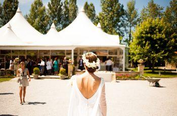 ¿Cómo decorar una carpa de boda? 5 formas únicas