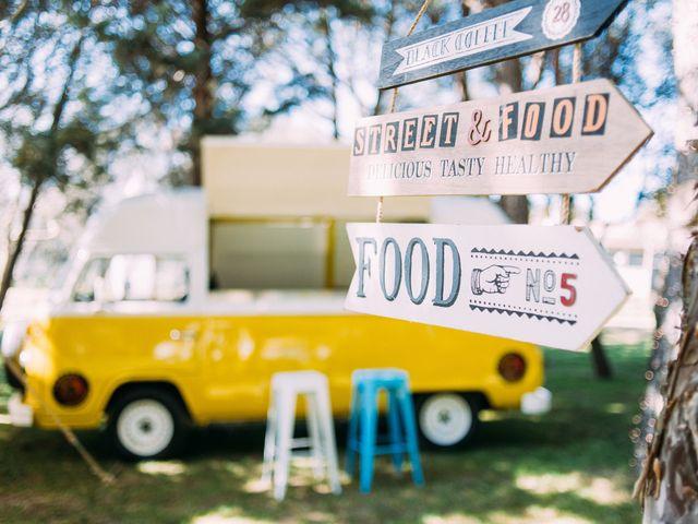 Food trucks para bodas: vuestro banquete sobre ruedas