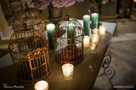 7 ideas para decorar la boda con velas