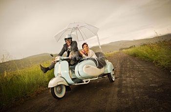 Pon un sidecar en tu boda