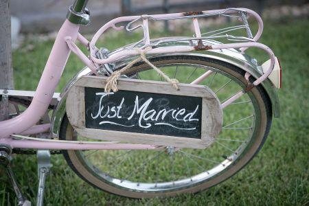 Pon una bicicleta en tu boda