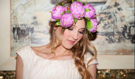 6 tendencias de peinados de novia 2015