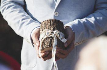 10 alternativas al cojín porta alianzas: escoge la perfecta para tu boda