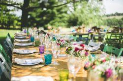 Ideas originales para las mesas del banquete
