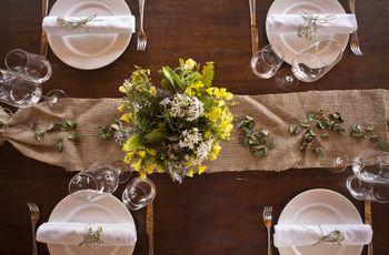 Centros de mesa para una boda rústica