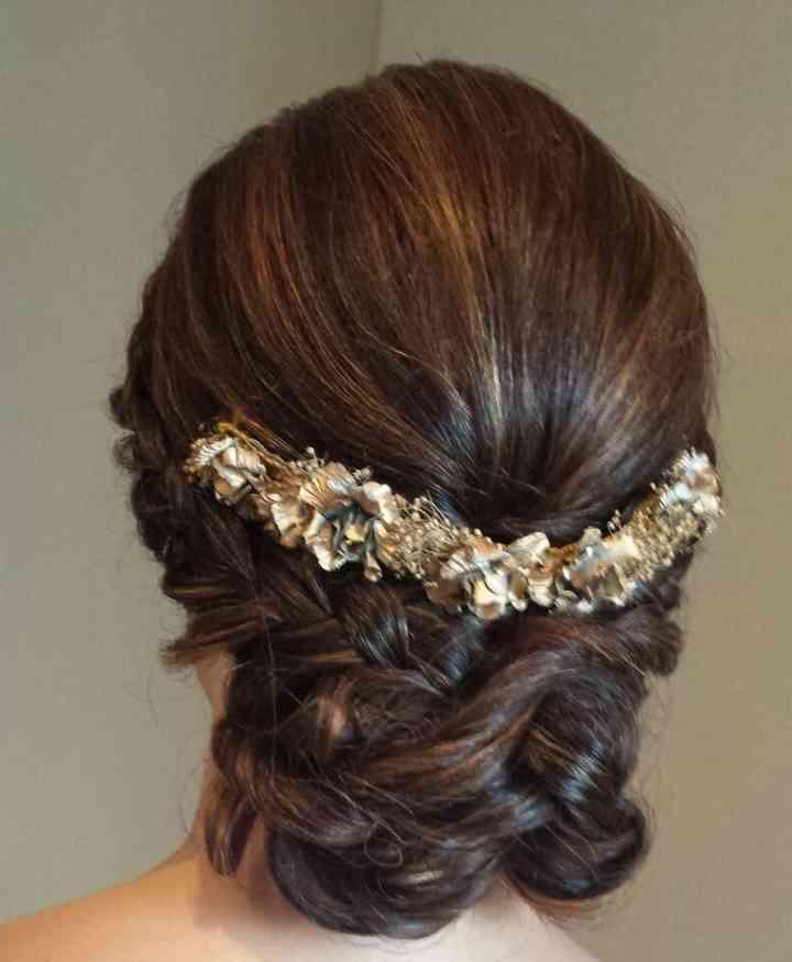 Peinados de novia recogidos bajos - Ideas para bodas espectaculares ...