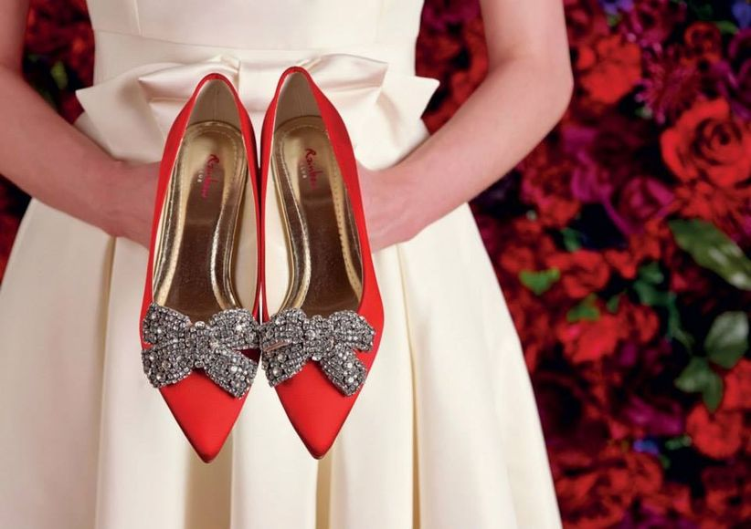 zapatos de novia de color para bodas originales